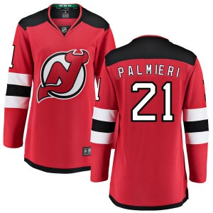Kyle Palmieri New Jersey Devils Women's Fanatics Branded Red Home Breakaway Jersey