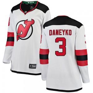 Ken Daneyko New Jersey Devils Women's Fanatics Branded White Breakaway Away Jersey