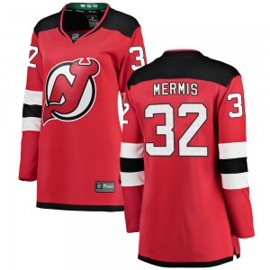 Dakota Mermis New Jersey Devils Women's Fanatics Branded Red ized Breakaway Home Jersey