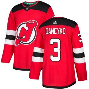 Ken Daneyko New Jersey Devils Men's Adidas Authentic Red Jersey