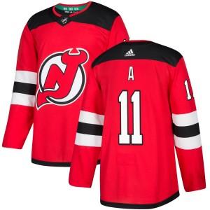 P. A. Parenteau New Jersey Devils Men's Adidas Authentic Red Jersey