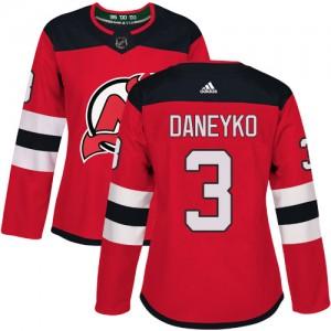 Ken Daneyko New Jersey Devils Women's Adidas Authentic Red Home Jersey