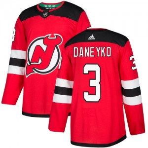 Ken Daneyko New Jersey Devils Youth Adidas Authentic Red Home Jersey