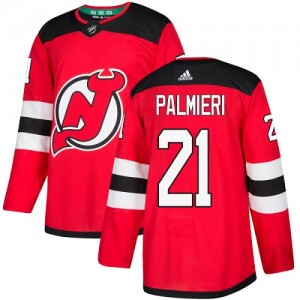 Kyle Palmieri New Jersey Devils Youth Adidas Authentic Red Home Jersey