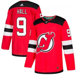Taylor Hall New Jersey Devils Youth Adidas Authentic Red Home Jersey