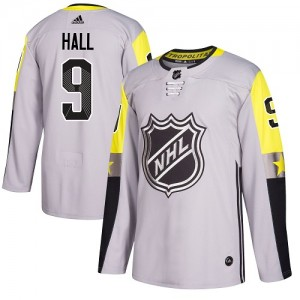 Taylor Hall New Jersey Devils Men's Adidas Authentic Gray 2018 All-Star Metro Division Jersey