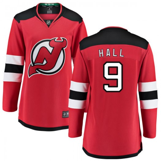 Taylor Hall New Jersey Devils Women's Fanatics Branded Red Home Breakaway Jersey